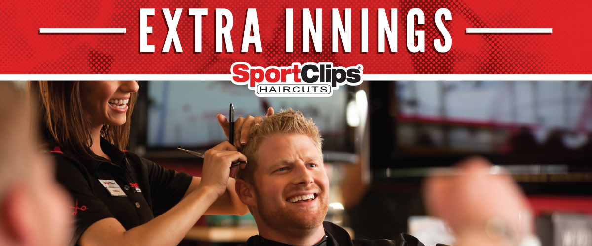 The Sport Clips Haircuts of Broadmoor at South Academy Extra Innings Offerings